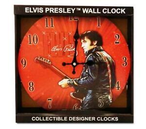*ELVIS PRESLEY* Wall Clock 68 COMEBACK.. NEW