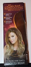 Secret Extensions 09 Brown/Black Hair Extensions HeadBand by Daisy Fuentes