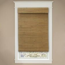 Home Decorators Privacy Bamboo Honey Cordless Roman Shades 30.5x72inches