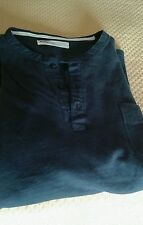Camiseta de hombre Levis nueva manga corta negra de algodon