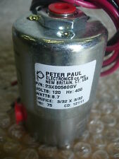 Peter Paul Valves Solenoid P/N 13U4-2