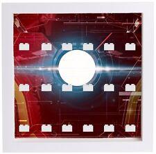 Lego Minifigure Display Case Frame Marvel Ironman Avengers superheroes minifigs