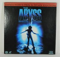 The ABYSS 3-Laserdisc LD Box Set Special Edition Pan and Scan Format w/ Inserts