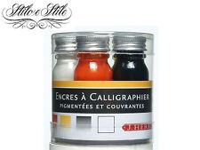 Inchiostro per Calligrafia J Herbin Pigmento | Set 5 colori | Calligraphy Inks