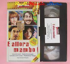 film VHS cartonata E ALLORA MAMBO! Luciana Littizzetto PANORAMA 1999(F38) no dvd
