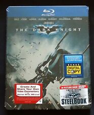 BATMAN : THE DARK KNIGHT - CANADA FUTURE SHOP EXCLUSIVE BLU-RAY STEELBOOK - NEW!