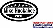 Mike Huckabee for President Decal Sticker JDM Funny Vinyl Car Window Bumper 12""