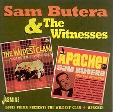 SAM & WITNESSES BUTERA - THE WILDEST CLAN/APACHE ! - BUTERA, WITNESSES - CD NEUF