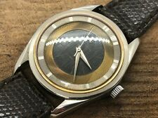 Rare Universal Geneve Polerouter Layered Dial Watch