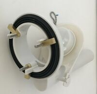 3 inch Valve Assembly for One Piece Toilet w/ Overflow Tube Extension