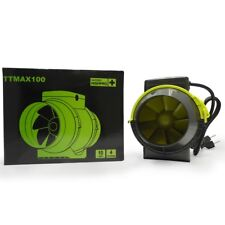 Extracteur TT 100mm 2 vitesses 145m3 / 187m3 Garden Highpro