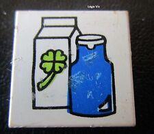 Lego Fabuland 3068bpx78 Tile 2x2 with Milk Bouteille de Lait du 3646