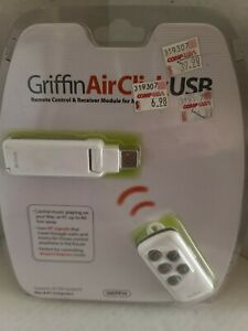 Griffin Air Click USB Remote Control for MAC and PC NEW