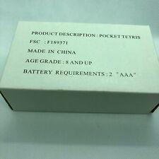Avon Radica 2000 Pocket Tetris Handheld Electronic Video Game Model 72077 New