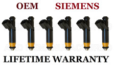 Genuine Siemens Set Of 6 Fuel Injectors for Ford F-150 Mustang 3.8L 4.2L