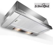 5 Star Chef Rangehood Range Hood Stainless Steel Kitchen Canopy 60cm 600mm