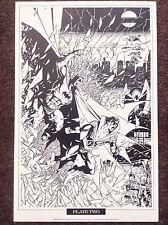 Batman Imprimir George Perez 1989 Vintage Comic Art Raros Nuevos Titanes Dc Fantasía 2