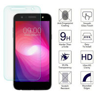 For LG Fiesta LTE Tempered Glass Screen Protector [0.26mm, Ultra Thin, Clear HD]