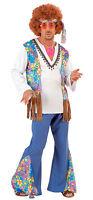 amor & Paz on Tierra Disfraz Hippie para Hombres Nuevo - Hombre Carnaval VE