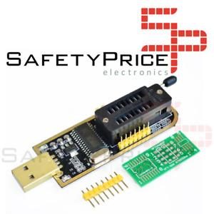 PROGRAMADOR EEPROM Flash BIOS USB 24 25 Series CH341A  ref 0356