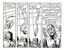 CYBERMAN PLANCHE DE MONTAGE AREDIT PUBLIEE DANS FRANKENSTEIN UNIQUE PAGE 16