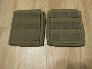 Tactical Tailor Fight Light Side Plate Pouches 5.5x6 Brown New