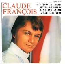 CD Single Claude François Mais quand le matin EP REPLICA 4-track CARDSL + RARE +