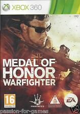MEDAL OF HONOR WARFIGHTER for Xbox 360 - with box & manual - PAL