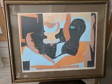 "Pablo Picasso lithograph ""Man, Woman, and Dove"" 212/300"