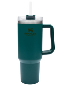 Stanley Adventure Quencher Travel Tumbler Straw Cup 40 oz DEEP SEA  FAST SHIP!!