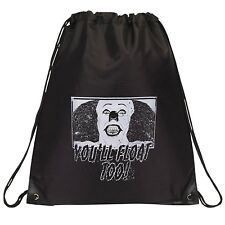 Pennywise - You'll Float Too! , Drawstring Bag - Black