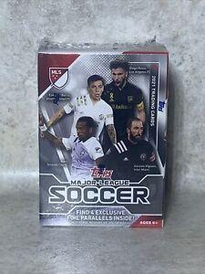 2021 Topps Major League Soccer MLS - Factory Sealed Blaster Box W/ 4 FOIL CARDS
