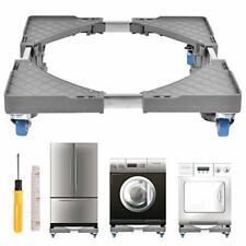 Adjustable Refrigerator Stand, Universal Movable Adjustable Mobile Base with