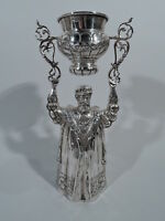 Antique Goblet - Wedding Wager Ceremonial King Cup - German Sterling Silver