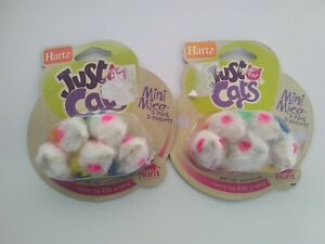 HARTZ - Just for Cats Mini Mice Cat Toy - (2) 5 Packs