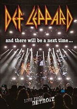 DEF LEPPARD AND THERE WILL BE A NEXT TIME DVD ALL REGIONS NTSC 5.1 NEW