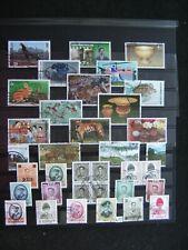 W 31) verschiedene Thailand Briefmarken gestempelt