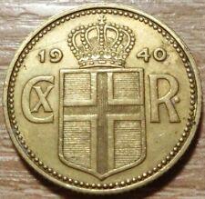 Island  1  Krone  1940