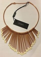 New Saba Rose Gold Necklace - RRP $129