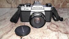Vintage Pentax Asahi K1000 Camera With Pentax-M 50mm Lens