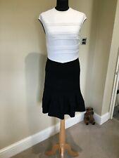 Ted Baker White/Black Colourblock Dress size 8/10