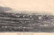Tenerife Spain Birdseye View Of City Antique Postcard K30045