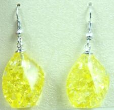 Precious Modernist amber Handmade Gemstone Jewellery earrings H17