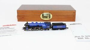 Z Scale Marklin S212 K.Bay.Sts.B. S 3/6 Steam Loco & Ltd. Edition Tender - Rare