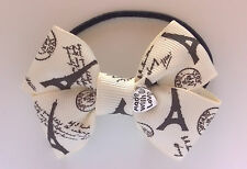 Hair Bow_Costume_Ribbon_Miss Alice Bow_French_Made with love charm