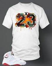 23 Bunny T-shirt To match Hare Air Retro Jordan Size S-7XL White Pro Club Tee