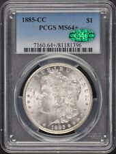 1885-CC $1 Morgan Dollar PCGS MS64+ (CAC)