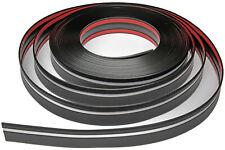 Zierleiste 39mm breit | schwarz silber | flexibel selbstklebend | Meterware