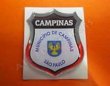 3D Emblem Sticker Resin Domed Flag Campinas - Adhesive Decal Vinyl