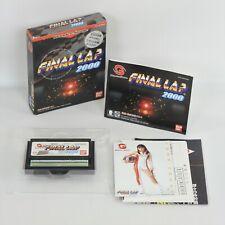 FINAL LAP 2000 with Card WonderSwan 6308 ws